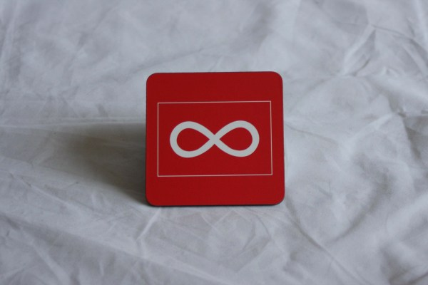 Coaster 6-pack Métis Flags and Sashes Sous-Verres Paquet de 6 Drapeaux Métis et Ceintures Fléchées 2