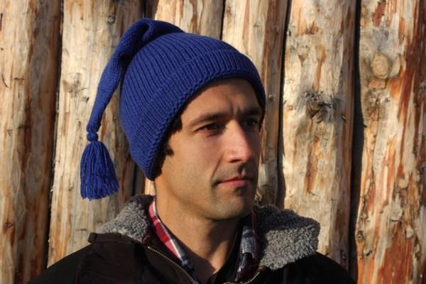 Voyageur Blue Bleue Toque Tuque Alpaca Alpaga 2