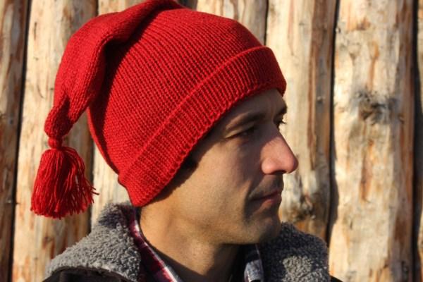 Voyageur Red Rouge Toque Tuque Alpaca Alpaga 4