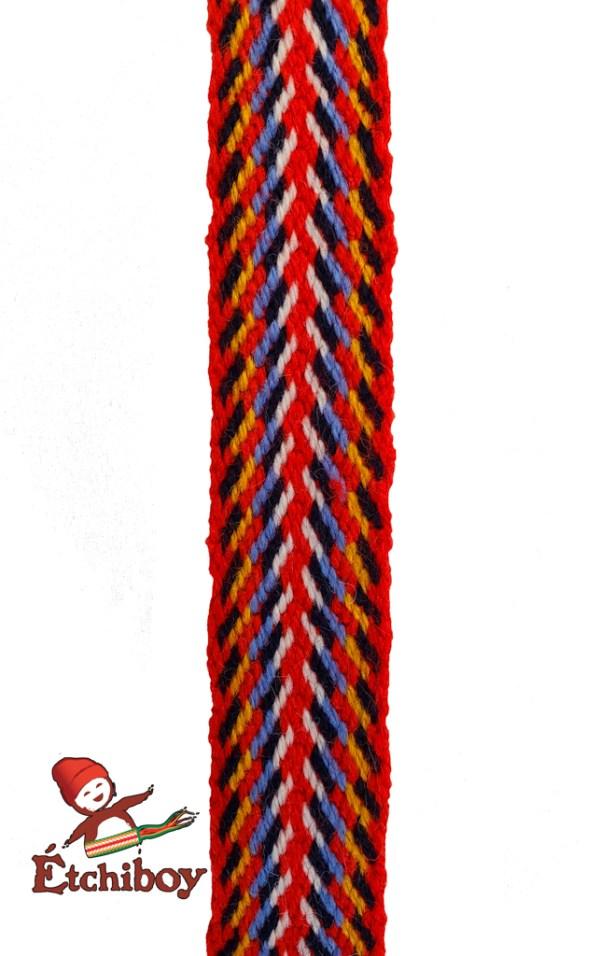 """L'Assomption Mini Sash 36"""" Mini-ceinture 36po Headband Bandeau Alpaca 2"""