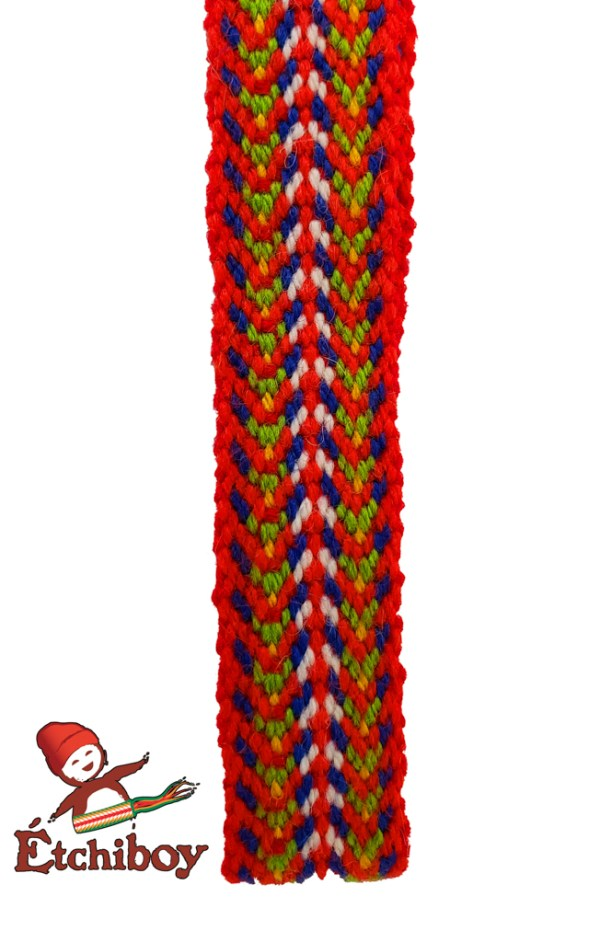 "Mini Sash 60"" Louis Riel Mini-ceinture 60po Louis Riel 3"