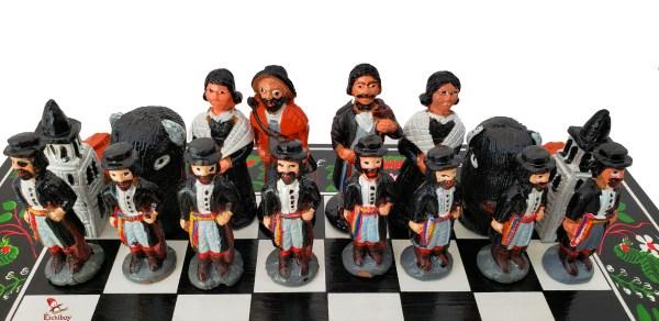 Étchiboy Battle of Batoche Chess Jeu d'échec de la Bataille de Batoche 2
