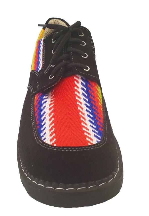 Turtle Mountain Leather Lace-Up Shoe Soulier Cuir A Lacet 2