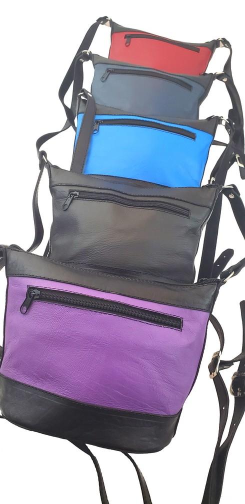Cold Lake Leather Bag Sac En Cuir 2