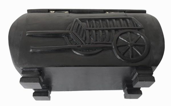 Étchiboy Carved Metis Box Coffre Métis Gravé 5