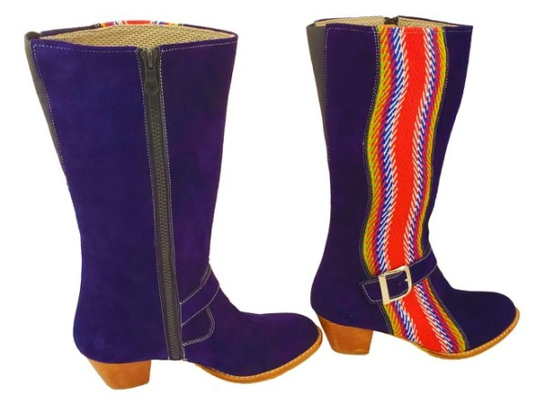 Red River Buckled Leather Boot With Strap Botte A Boucle Avec Bande 6