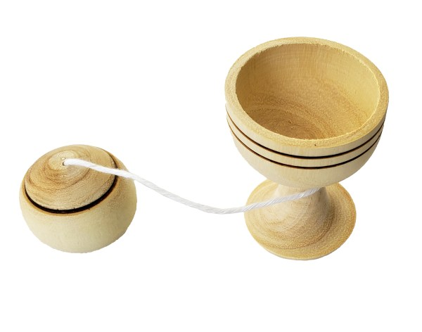 Wooden Ball in a Cup Toy - Bilboquet 3