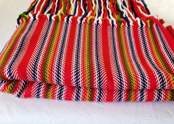 Jean-Baptiste Lagimodière Multi-sash Blanket Shawl Alpaca Couverte Châle Alpaga Multiceinture 2