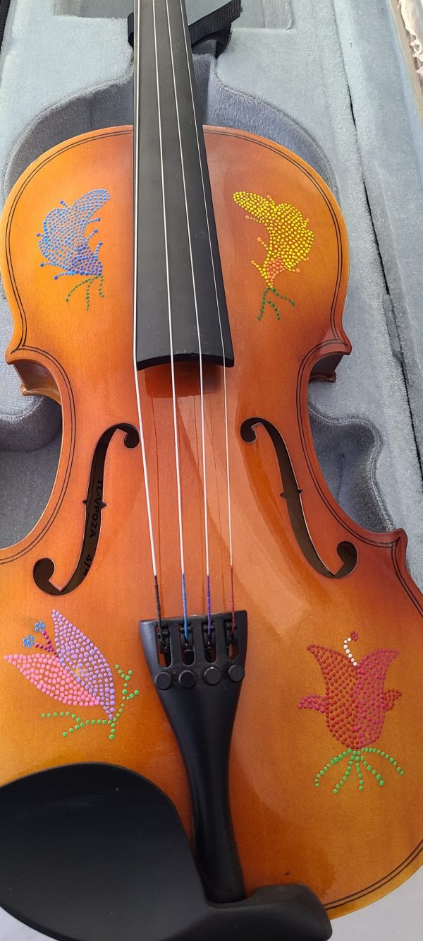 Violon Fiddle Étchiboy perlage
