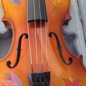 Violon Fiddle Étchiboy perlage