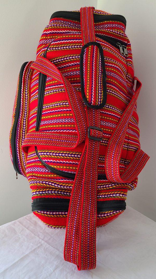 One of A Kind Gym Bag Grand Sac de Voyage Carnaval Alpaga 2