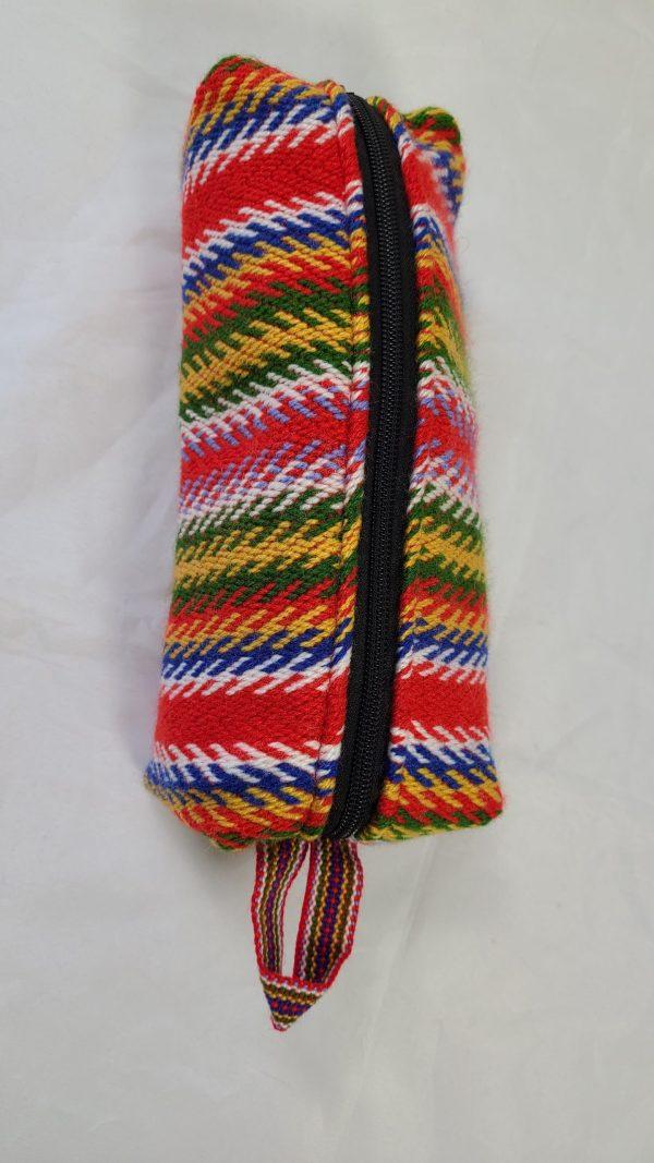 One Zipper Pencil Case Toiletry Bag Prairie Étuis à Crayons Sac de Toilette Une Fermeture 5