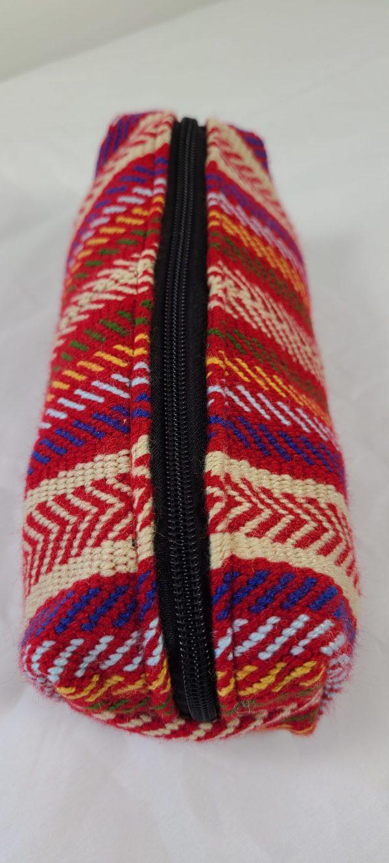 One Zipper Pencil Case Toiletry Bag Carol James Étuis à Crayons Sac de Toilette Une Fermeture 5