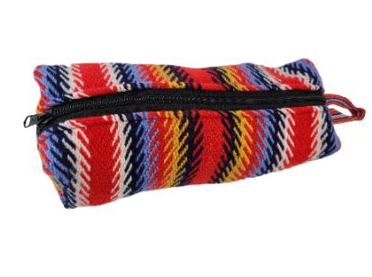 One Zipper Pencil Case Toiletry Bag L'Assomption Étuis à Crayons Sac de Toilette Une Fermeture 5