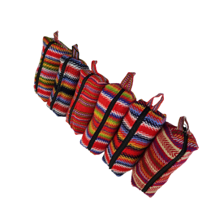 One Zipper Pencil Case Toiletry Bag Prairie Étuis à Crayons Sac de Toilette Une Fermeture 4