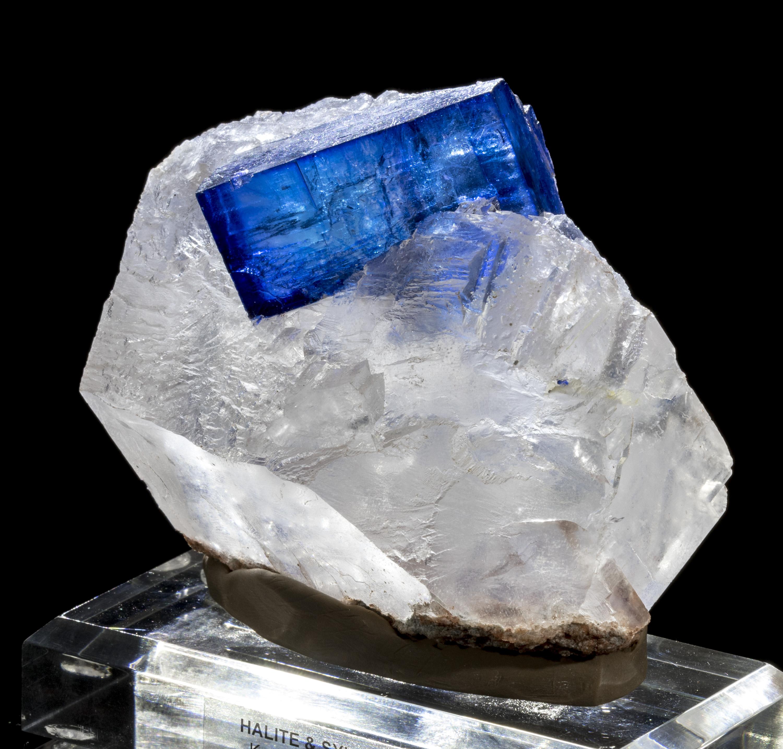 Exquisite Blue Halite