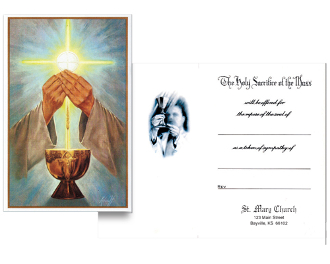 No 30 For Deceased Mass Card