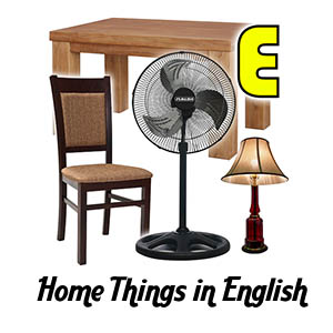 Home Things in English Thumbs