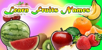 Learn Fruits Name (1)