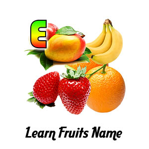 Learn Fruits Name Thumbs
