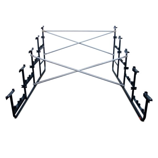 Signature Series 3 Row Bleacher Steel Understructure