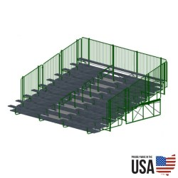 Signature Series Deluxe Bleacher Package - 10 Rows, 27 ft
