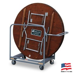 American Cart Round Table Cart