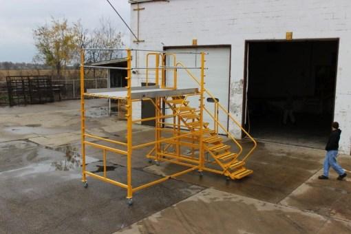 Granite Boom Truck Maintenance Platform