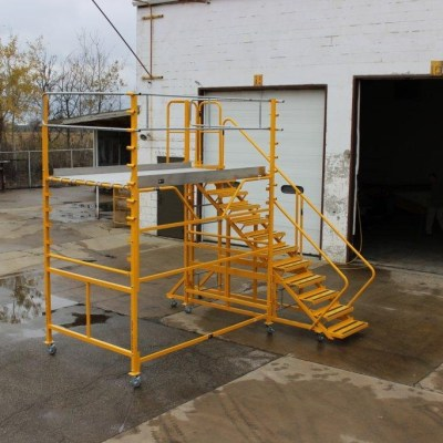 Granite Boom Truck Maintenance Platform