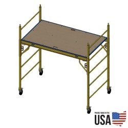 "Granite Indy Plus 42"" Utility Scaffold - Single Unit"