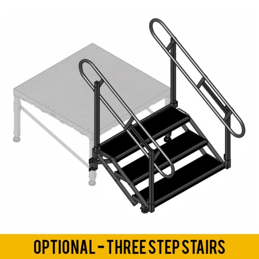 2 Step Stage Stair