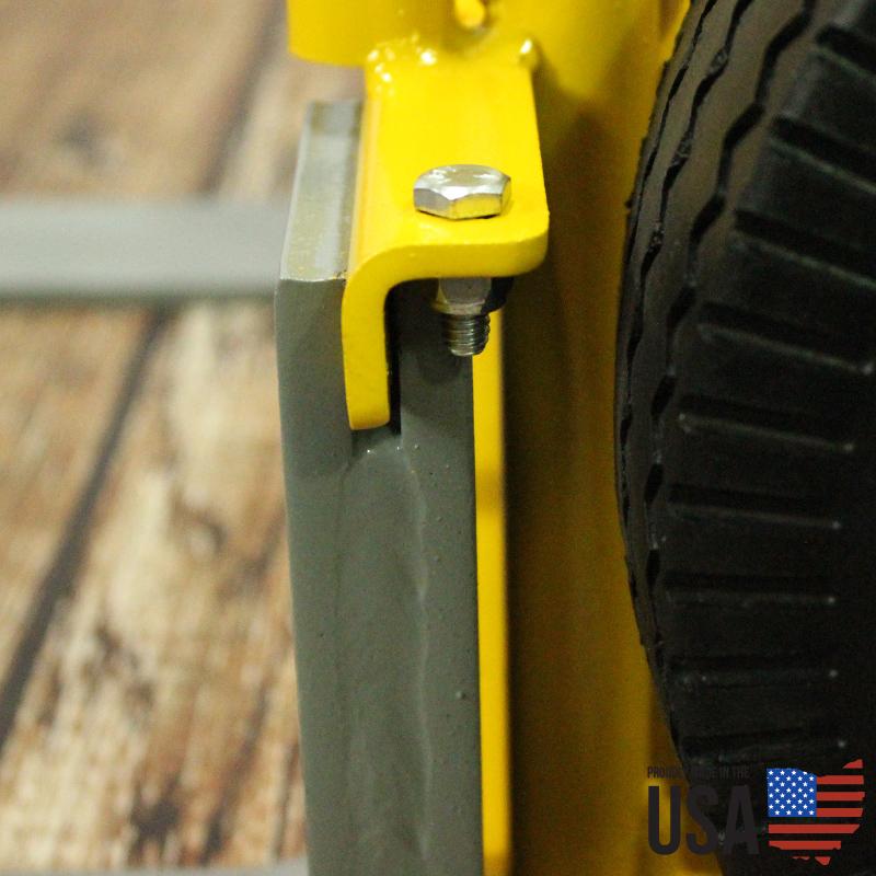 American Cart Fork Hand Truck - Dual Wheels