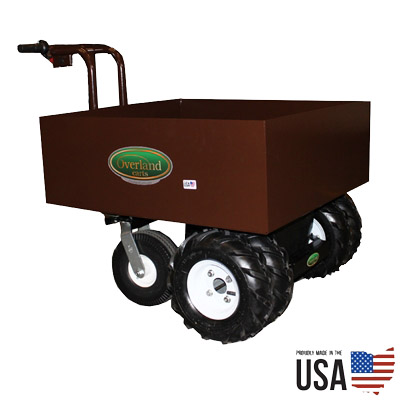 Overland Electric Power Wagon – 7.5 Cu. Ft. Metal Hopper