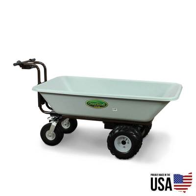 Overland Electric Powered Wagon - 9 Cu.Ft. Hopper