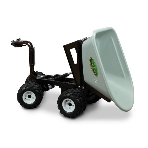 Overland Electric Wheelbarrow – 7 cu. ft. with 4WD