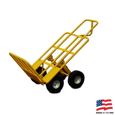 American Cart Multi Mover Hand Truck With Rear Wheels