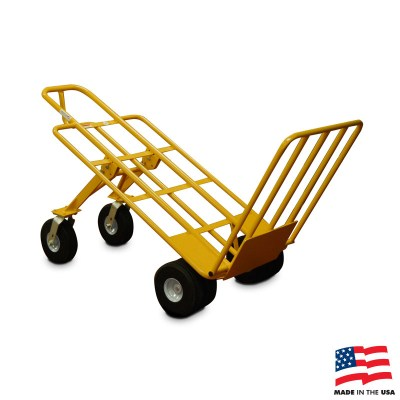 American Cart Multi Mover XT Hand Truck With Rear Wheels