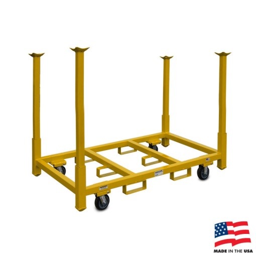 American Cart Table & Chair Storage Rack