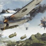 Battle of Philippine Sea - Artwork - Large Print Unframed image 1 on GreatBritishMotorShows.com