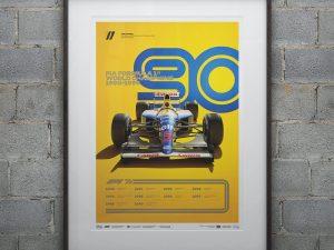 FORMULA 1® DECADES - 90s Williams | Limited Edition image 2 on GreatBritishMotorShows.com