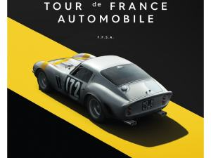Ferrari 250 GTO - Silver - Tour de France - 1964 - Limited Poster image 1 on GreatBritishMotorShows.com