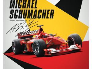 Ferrari F1-2000 - Michael Schumacher - Germany - Suzuka GP - Poster image 1 on GreatBritishMotorShows.com