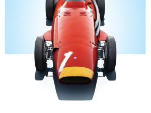 Maserati 250F - Juan Manuel Fangio - Red - German GP - Limited Poster image 1 on GreatBritishMotorShows.com