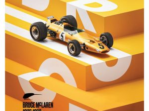 McLaren Papaya - Bruce McLaren special - Spa-Francorchamps Circuit - 1968   Limited Edition image 1 on GreatBritishMotorShows.com
