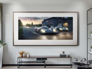 Piggyback - Artwork - Large Print Unframed image 2 on GreatBritishMotorShows.com