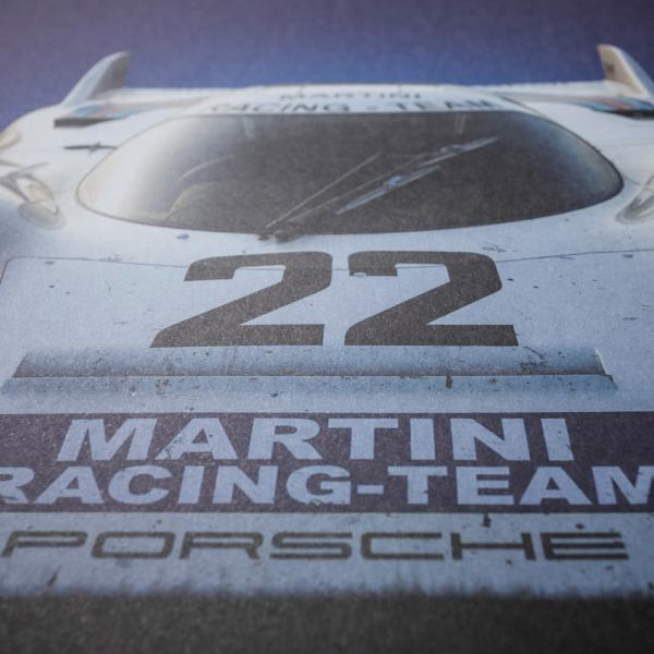 Porsche 917 - Martini - 24h Le Mans - 1971 - Colors of Speed Poster image 4 on GreatBritishMotorShows.com
