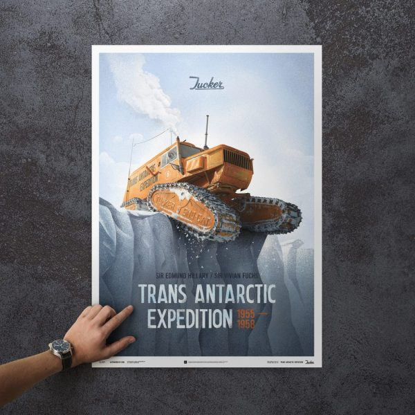 Trans Antarctic Expedition Tucker Sno-Cat 1958 - Limited Poster image 3 on GreatBritishMotorShows.com
