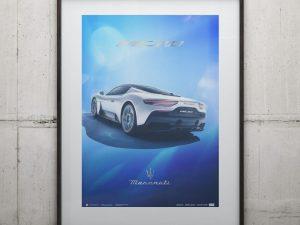 Maserati Corse 2020 | MC20 Rear | Collector's Edition image 2 on GreatBritishMotorShows.com
