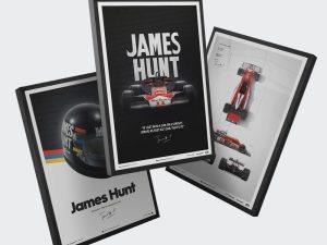McLaren M23 - James Hunt Birthday Special - Blueprint and Inspiration | 3-for-2 - Bundle (3 for 2) image 1 on GreatBritishMotorShows.com