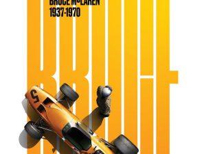 McLaren Papaya - Bruce McLaren Birthday Bundle - Spa-Francorchamps Circuit 1968 | 2-for-1 - Bundle (2 for 1) image 2 on GreatBritishMotorShows.com